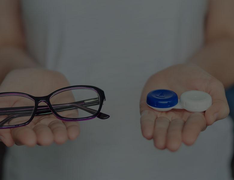 Astuces pour passer des lunettes aux entilles de-contact